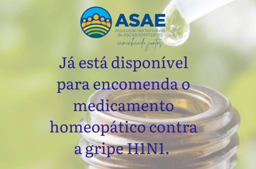 Medicamento Homeopático contra a gripe H1N1