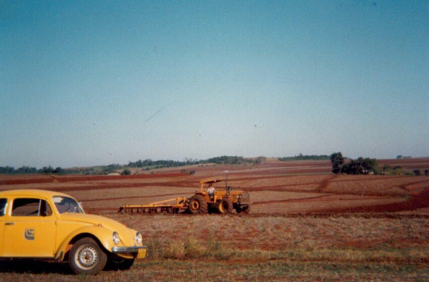 Fusca utilizado pela Emater na década de 70
