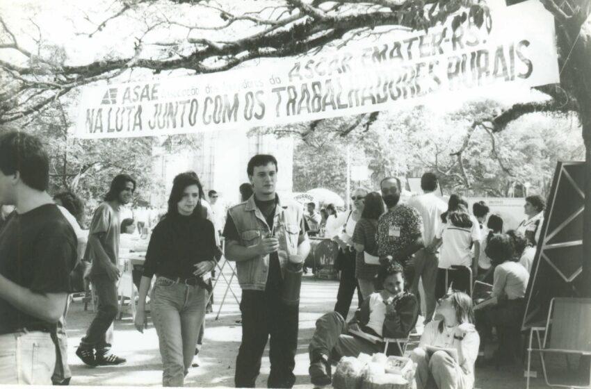 Mobilização trabalhista na década de 90
