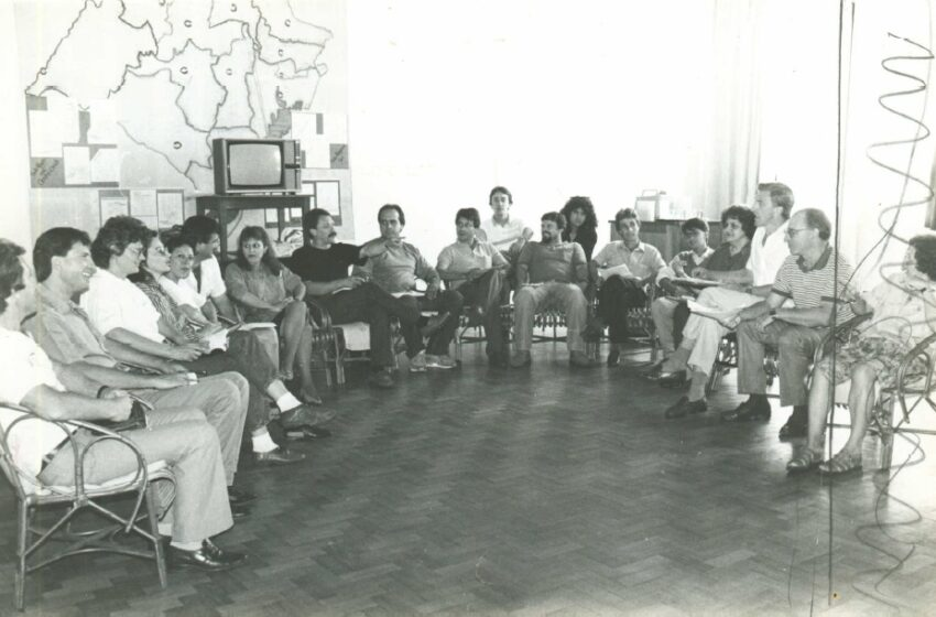 Reunião de Agentes de Núcleo da Asae em 1990