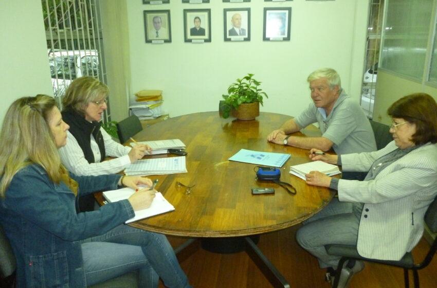 Reunião do Grupo Gestor do FAS em 2012