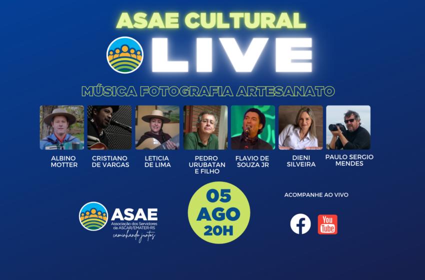 LIVE: ASAE Cultural