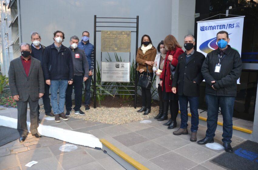 Asae participa da reinauguração do prédio da Ascar-Emater em Porto Alegre