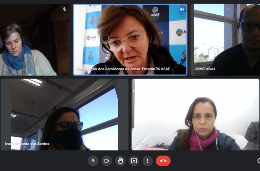 ASAE e SEMAPI se reúnem com Emater para discutir Expointer 2021