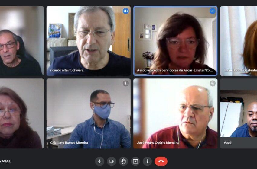 Reunião define planejamento para live dos 37 anos da Asae