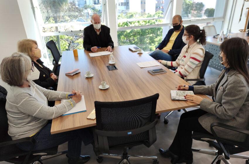 Grupo gestor do FAS se reúne com diretoria da Emater